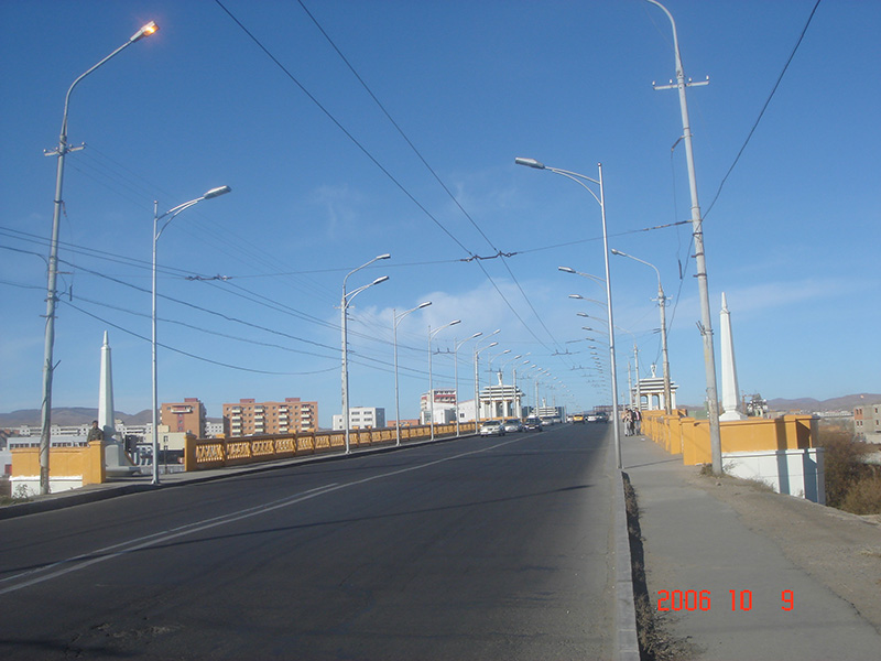 The Maintenance and Reinforcement of Peace Bridge in Mongolia