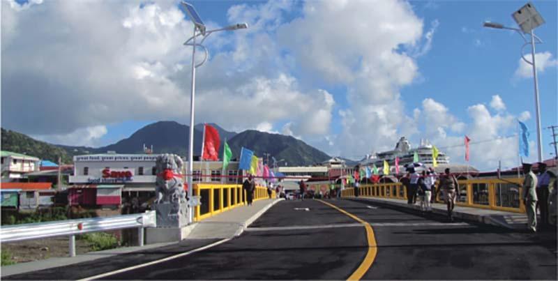 Roseau-Portsmouth Road in Dominica