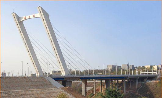 Qinshui Road bridge in Xinmi city
