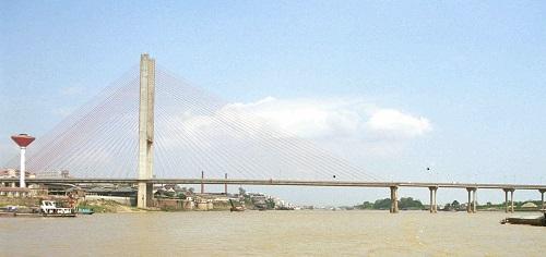 Sanmenxia Yellow River Highway Bridge