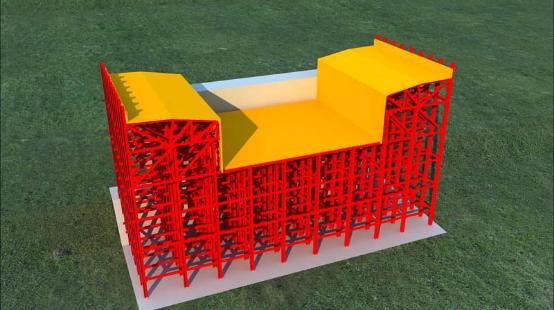 3D Animation of Cantilever Concreting Construction Technology of Hanging Basket for Huangshui River Bridge
