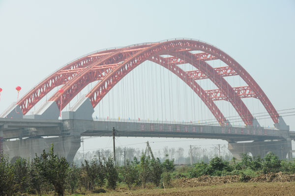 Pushan Super-large Bridge of Lingnan Expressway