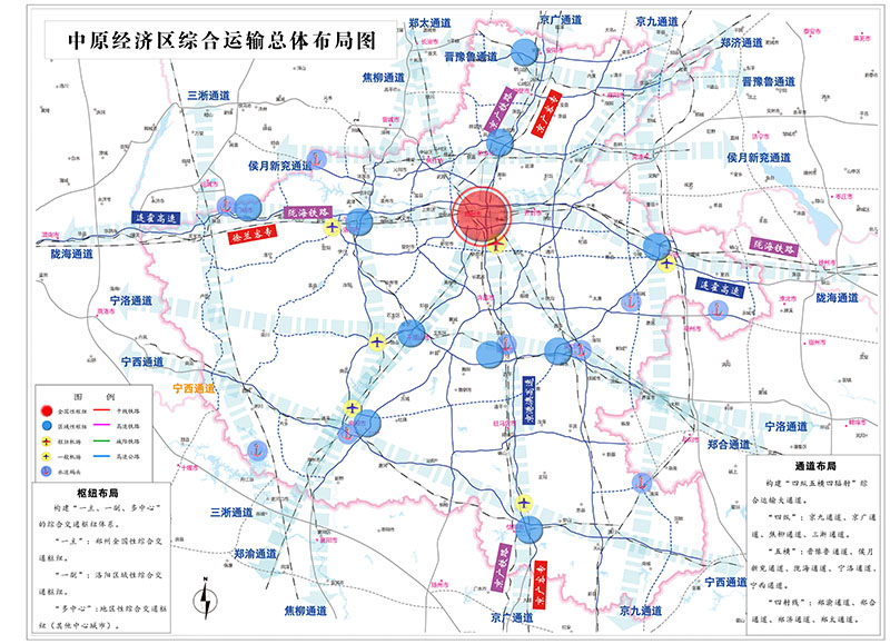 The Comprehensive Traffic Development Planning of central Plains Economic Zone