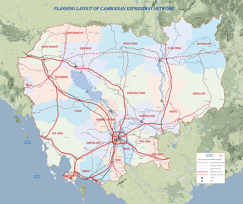 Expressway Development Master Plan of the Kingdom of Cambodia