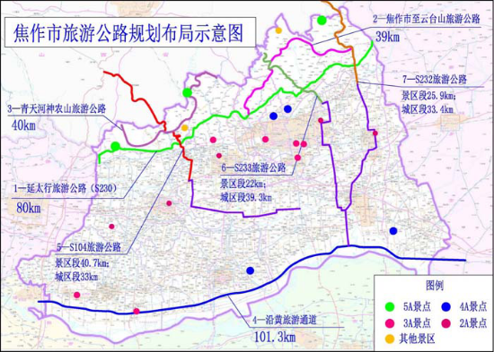 Comprehensive Tourism Transport Planning of Jiaozuo (2018)