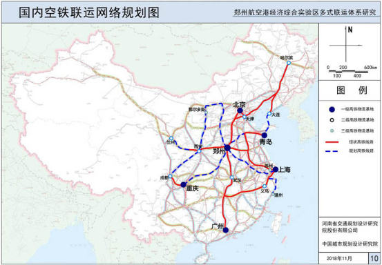 Research on the Multi-transport System in Comprehensive Experimental Zhengzhou Airport Economic Zone (2018)