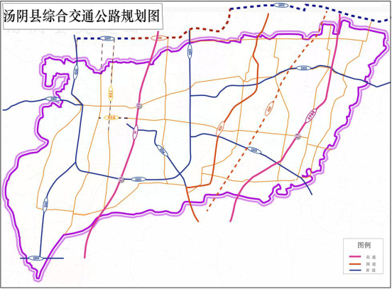 Tangyin County Integrated Transport Development Planing (2017-2030)