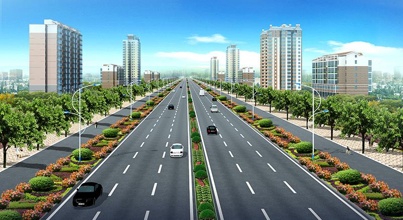 Wenchang Avenue of Anyang City