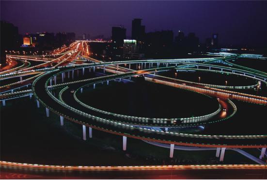 East Jinshui Road Interchange in Zhengzhou City