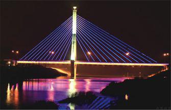 Lihe Bridge of Songshan Road in Luohe City