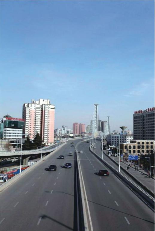 Jingguang Fast-Track in Zhengzhou City
