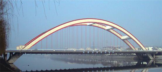 Shihe Bridge in Xinyang City