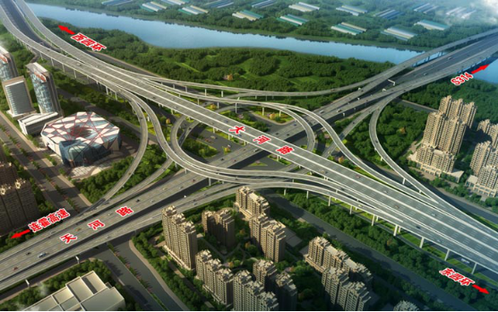 The Fast-track Engineering of 4th Ring Road and Dahe Road in Zhengzhou City (2017)