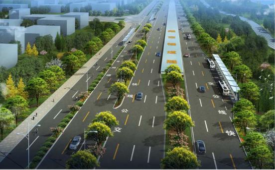 Qunan Road Engineering (West 4th Ring Road – Longhai Road) (2017)