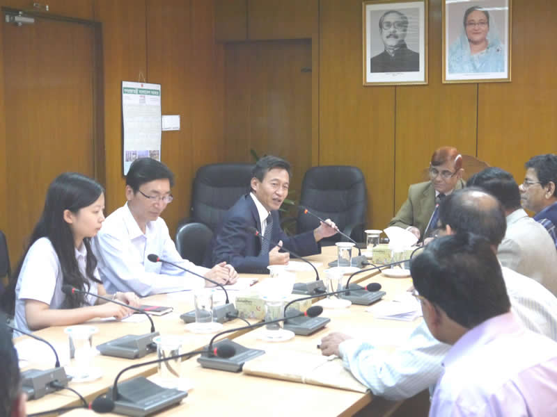 Our company achieved initial results on study of The China-aided 8th Bangladesh-China Friendship Bridge
