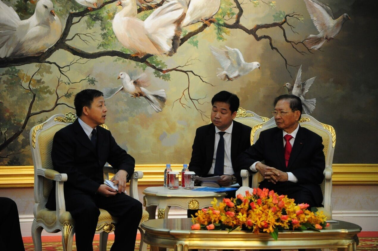 The party of Chairman Chang Xingwen met with Deputy Prime Minister Ji Chun of the Kingdom of Cambodia