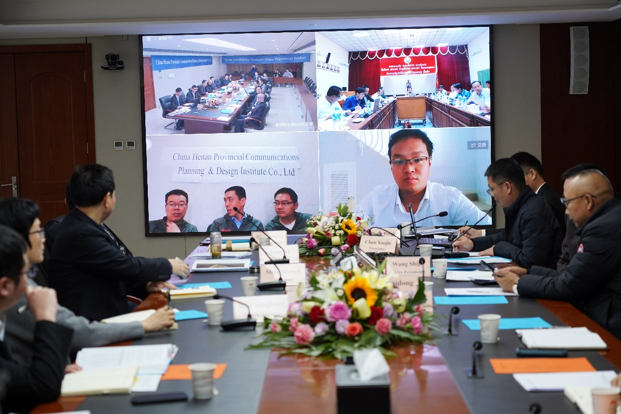 Route Selection for Vientiane-Pakse Expressway of Lao Passed the Scheme Review