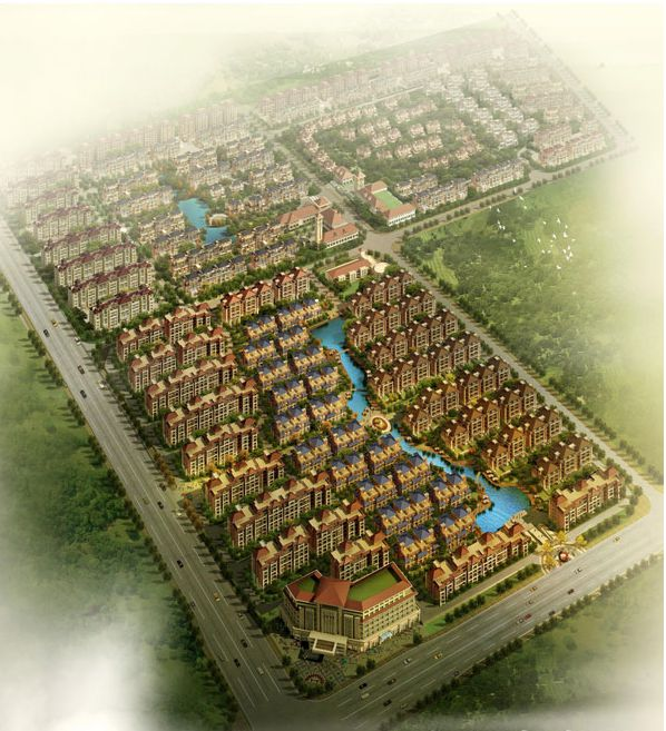 Topographic Survey and Construction Area of Measurement of XX Community in Zhengzhou