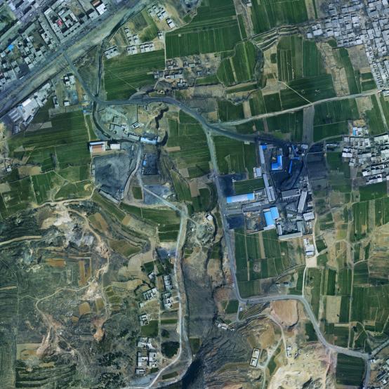 Airborne 3D lidar scanning survey of Dengfeng-Ruzhou section of Jiaozuo-Tongbai Expressway