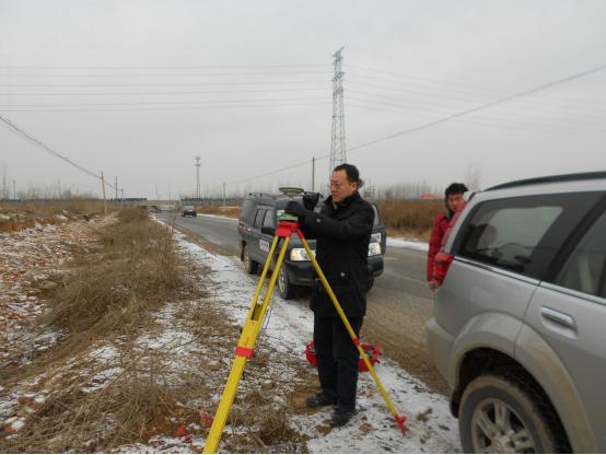 Control Survey of Shangqiu Section of Shangqiu-Dengfeng Expressway
