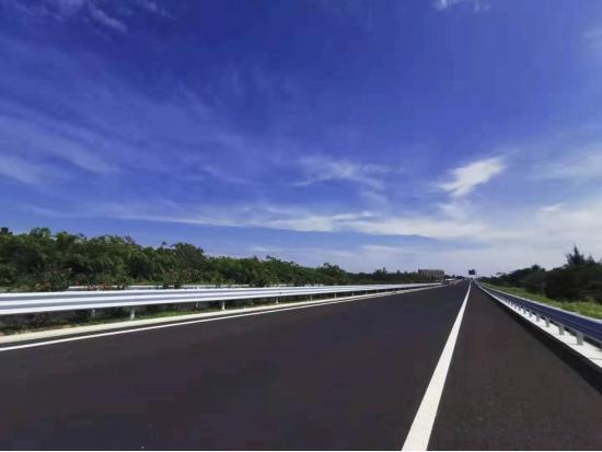 Wenchang-Qionghai Expressway in Hainan Province