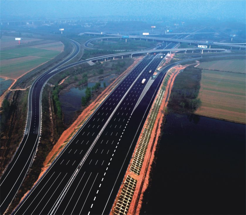 The reconstruction and expansion of Lianyungang-Huoerguozi Expressway Anyagn-Xinxiang section