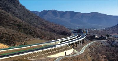 Linzhou-Changzhi(provincial boundaries of Henan province and Shanxi province) Expressway