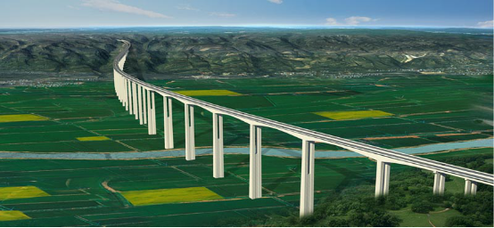 New Construction & Southward Moving of National Highway N310 from West Sanmenxia to Boundary of Henan/Shaanxi (2016)