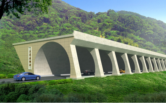Design of Tunnels for Songxian – Luanchuan Expressway