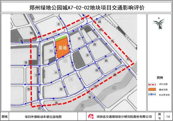Traffic Impact Assessment of Zhengzhou Greenland Park City