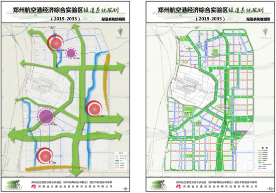 Greenway System Planning of Zhengzhou Airport Economic Comprehensive Experimental Zone (2019-2035)
